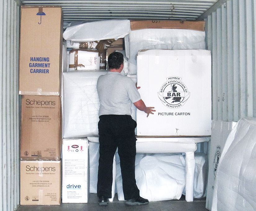 SELF STORAGE PACKING PROCESS