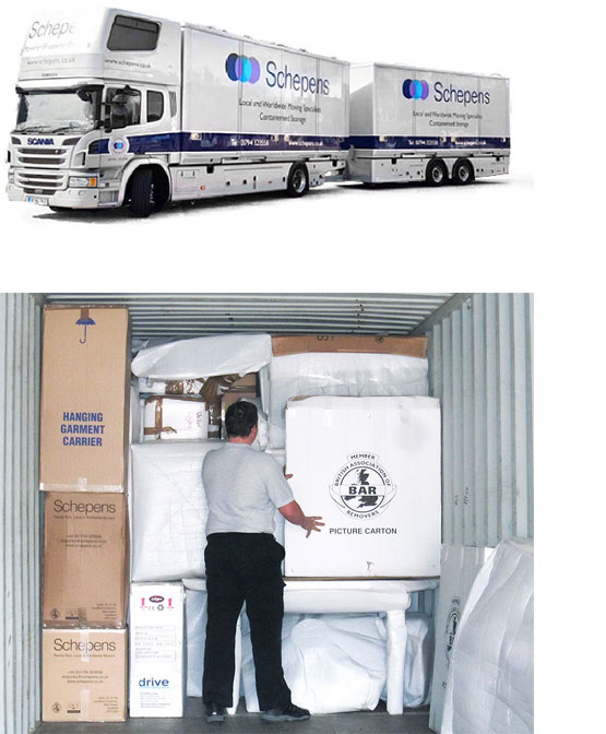 self storage in andover and Hampshire
