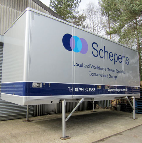 swop body unit schepens storage