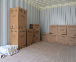 Container Storage Hampshire Inset